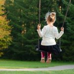 girl-on-swing-park