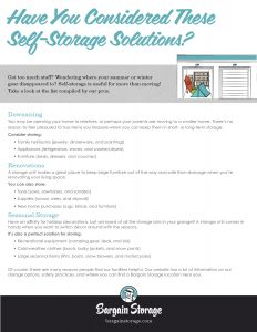 BargainStorage_Have-You-Considered-These-Self-Storage-Solutions